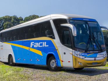 VIAÇÃO ÚNICA-FÁCIL RENOVA FROTA COM ÔNIBUS MARCOPOLO PARADISO 1200 TOTALMENTE ACESSÍVEL