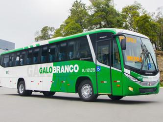 VIAÇÃO GALO BRANCO RENOVA FROTA COM 10 ÔNIBUS MARCOPOLO
