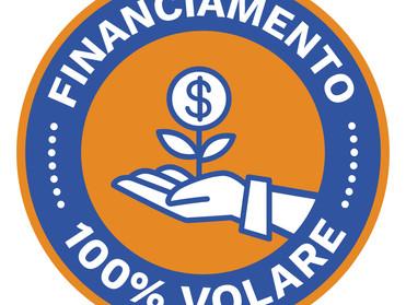 VOLARE PASSA A OFERECER FINANCIAMENTO DE 100% DO VALOR DOS VEÍCULOS