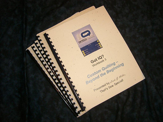 Got IQ?  Workbook 3 Hardcopy
