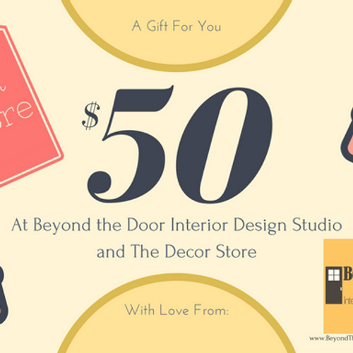 gift certificates - The Decor Store