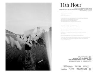 11th Hour Projektgalerie Berlin