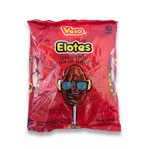 Vero Elote Lollipops