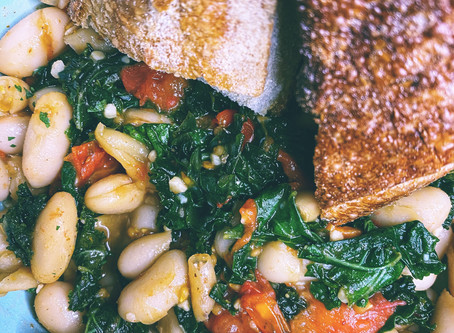 White Bean Summer Sauté