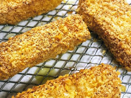 Crispy Air Fried Halloumi