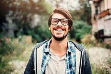 Homme heureux