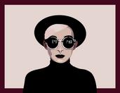 Illustrator Graphic Portrait