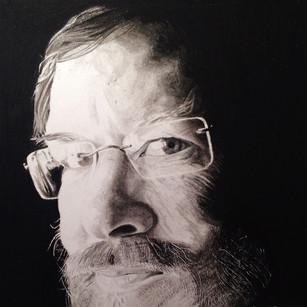 Charcoal Portrait David Graham