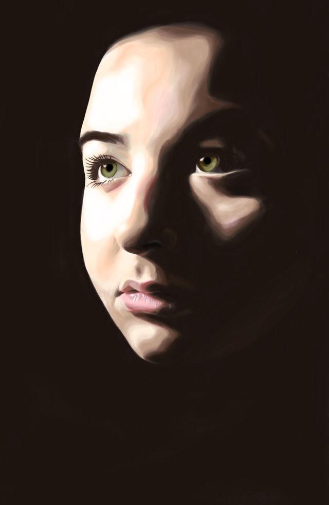 iPad Pro Portrait Avery LeBlanc