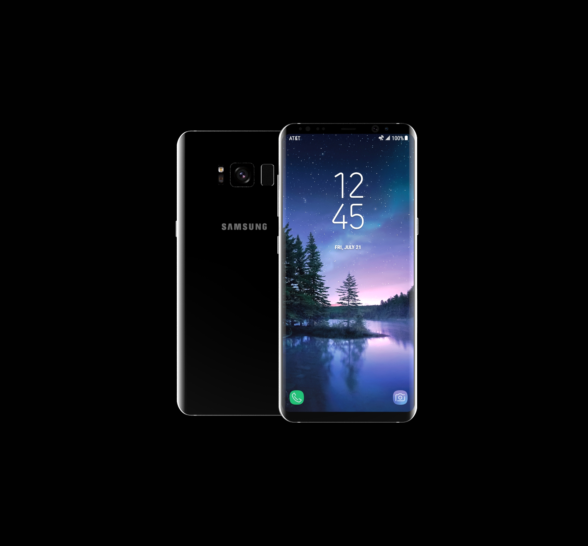 Galaxy S8 Keyshot Render