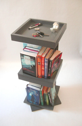 Rotating Bookcase Design