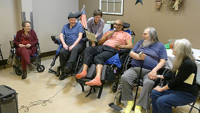 nursing home residents write poetry in central PA
