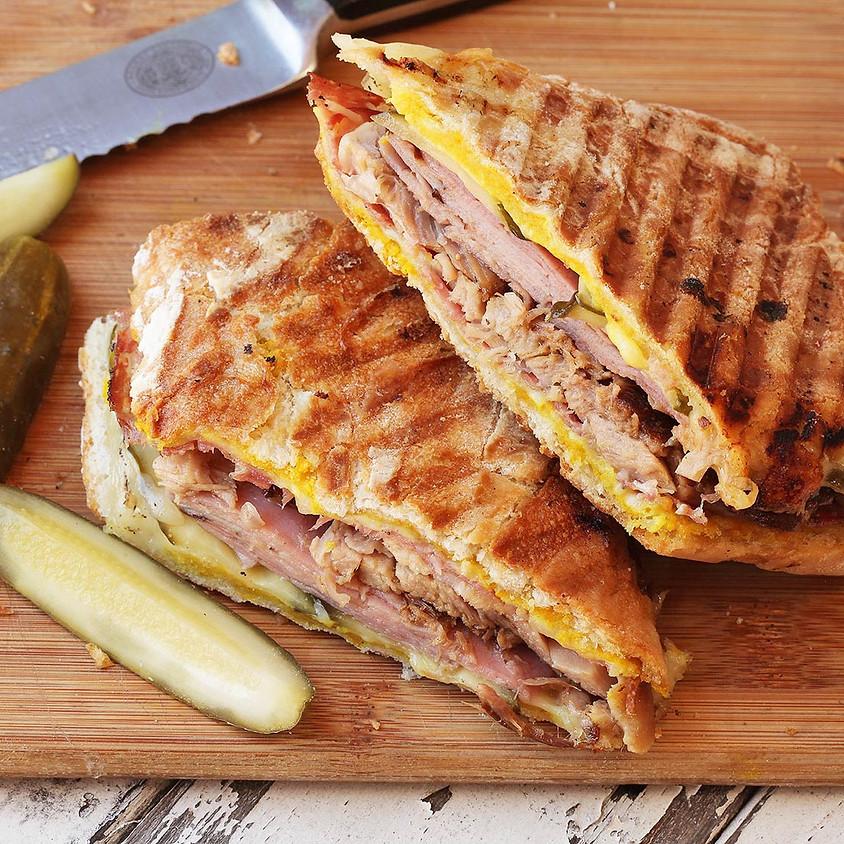 Post Fundraiser Cuban Sandwich Plate