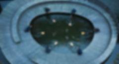 CRAS guitar ensemble - Moderne klassisk musik. 6 guitarer på vand. Søren Eriksen, Santiago Gutierrez Bolio, Henrik Bay Hansen, Jacob Nørrelund, Mathias Klarlund, Mikkel Egelund. Fotograf Trine Pihl Stanley