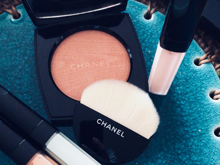 Chanel has just added a glow to my cheeks ...
