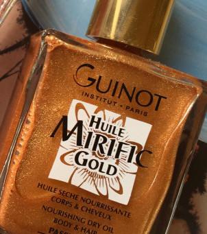 Guinot's golden body oil