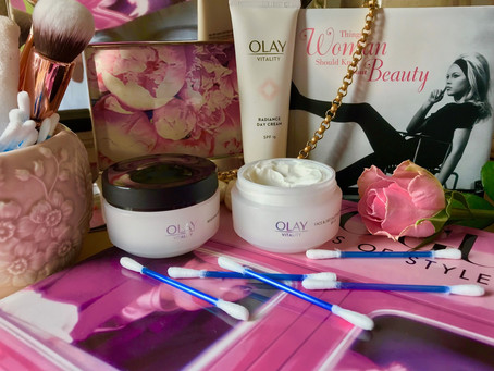 Restore your Skin's Vitality with Olay!