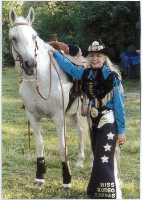 Rodeo Queen, Arabian Dream - Susan Dysart Sharp
