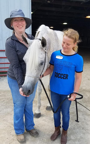 Arabian Horse Experience Class with Debbie  Alt