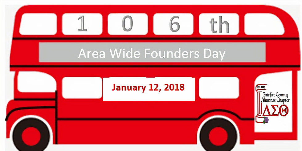 Seat on the Bus to the 106th Area Wide Founders Day