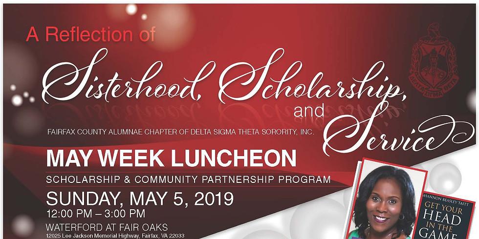 2019 May Week Luncheon