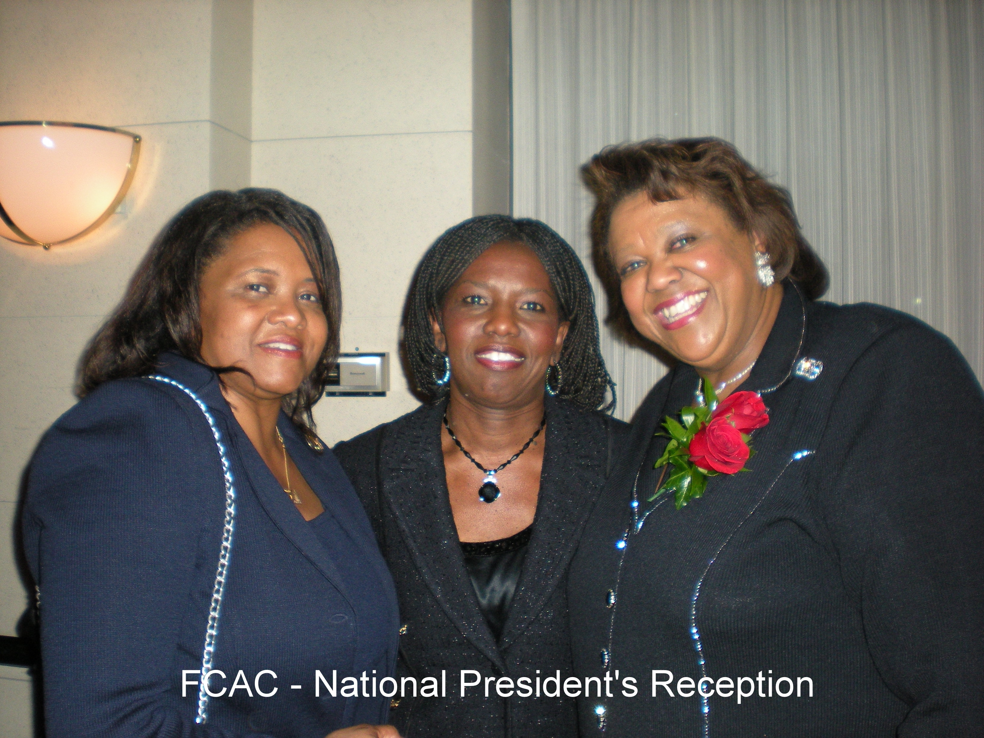 24th Natl President's- Reception WDC 2008 with 24th Pres