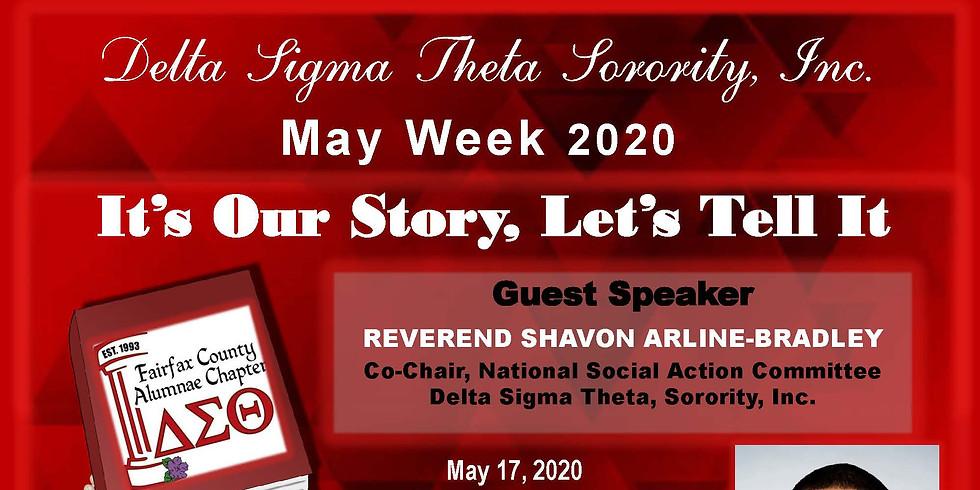 2020 May Week Luncheon