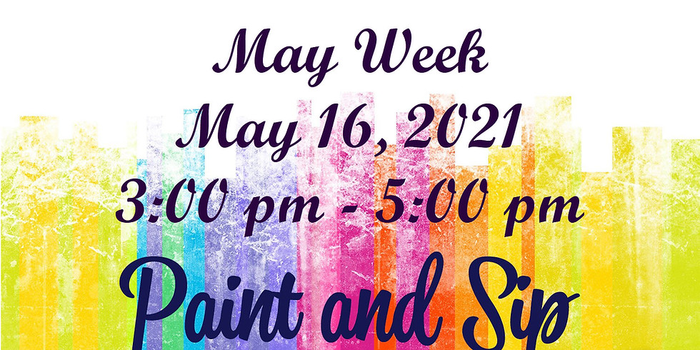 May Week Paint & Sip