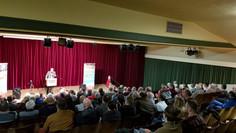 Wahlkampfveranstaltung in Ilmenau