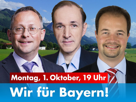 Wahlkampfveranstaltung in Lindenberg
