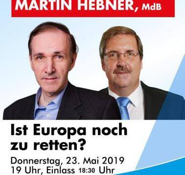 EU-Wahlkampfveranstaltung in Starnberg