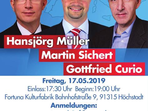 EU-Wahlkampfveranstaltung in Höchstadt