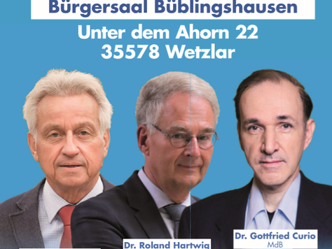 EU-Wahlkampfveranstaltung in Wetzlar