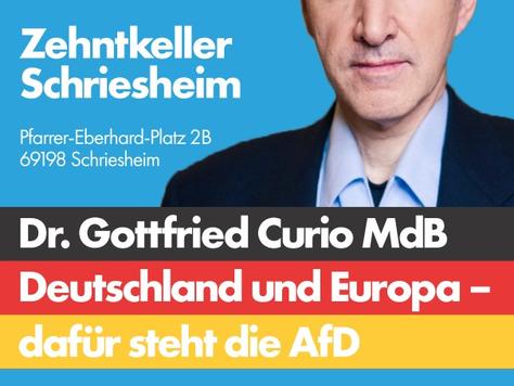 EU-Wahlkampfveranstaltung in Schriesheim