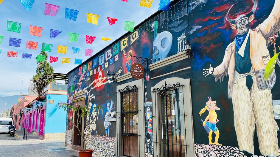 Wandering Around Oaxaca City