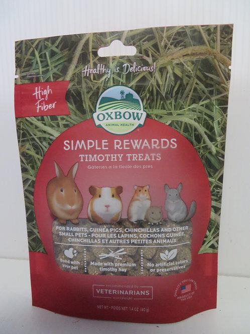 Oxbow Simple Rewards: Timothy Treats