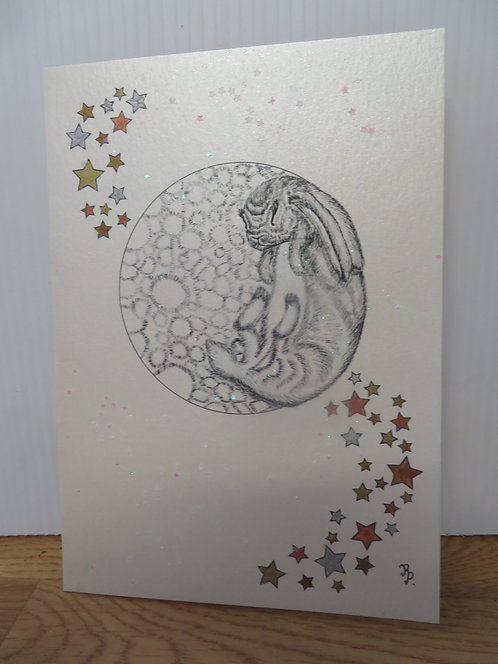 Picture Card: The Rabbit on the Moon-1