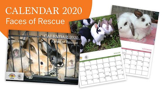 2020 Calendar - Faces of Rescue