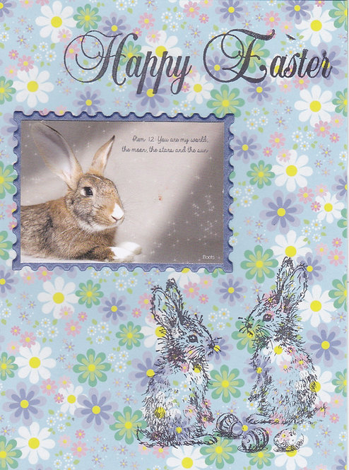 Greeting Card (Single) - Happy Easter