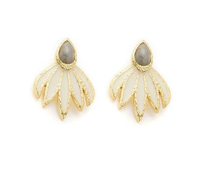 Boucles d'oreille Maya I Alexandra Margnat