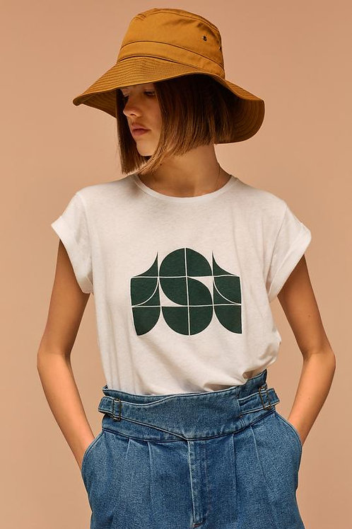 T-Shirt VALENTIN - blanc - I SOEUR