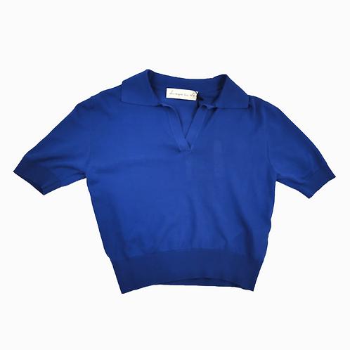 Polo court - bleu - I PHISIQUE DU ROLE