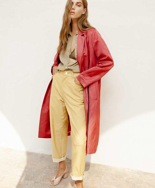 Pantalon FUCSIA - jaune - I MOMONI