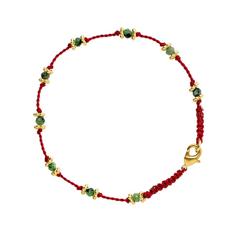 Bracelet Lotus Rouge