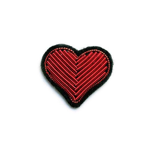 Broche 'Coeur rouge' I Macon & Lesquoy
