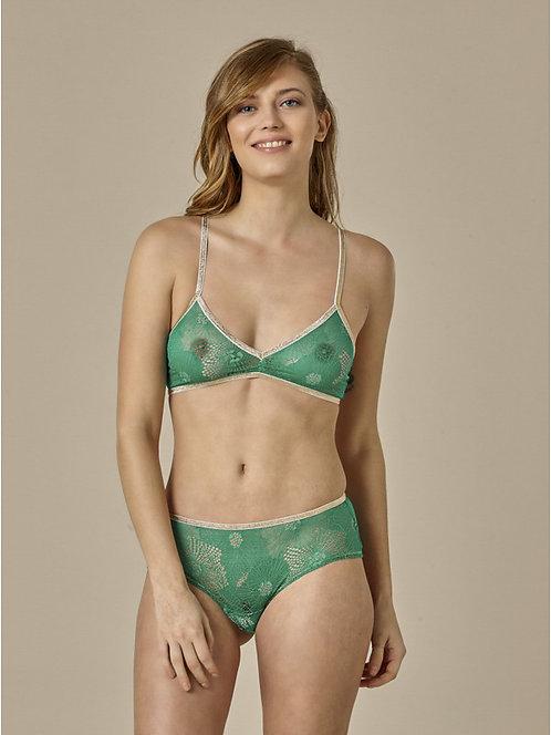 Shorty Georgia Green Lace