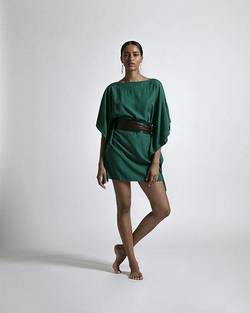 Robe courte Kimono Gazon