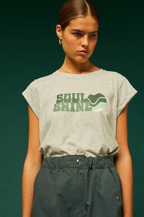 T-Shirt VALENTIN - gris chiné -I SOEUR
