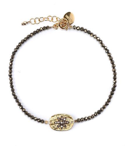 Bracelet Pyrite I 5 Octobre