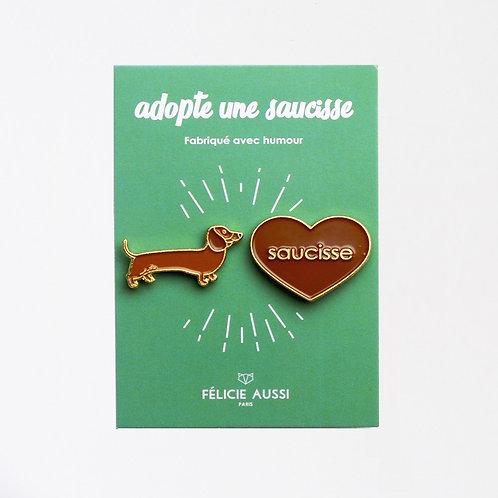 Pin's Saucisse
